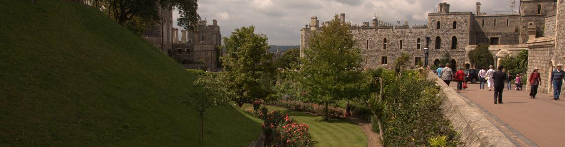 Windsor Castle Moat